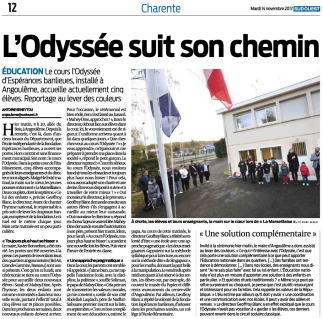 2017-11-14 Article Sud-Ouest page Charente